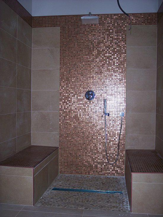 Progetti per bagno con mosaico iemmi ceramiche di iemmi paola - Bisazza bagno prezzi ...